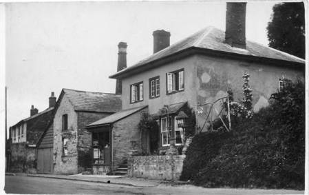 Easterton shop in the 1930s