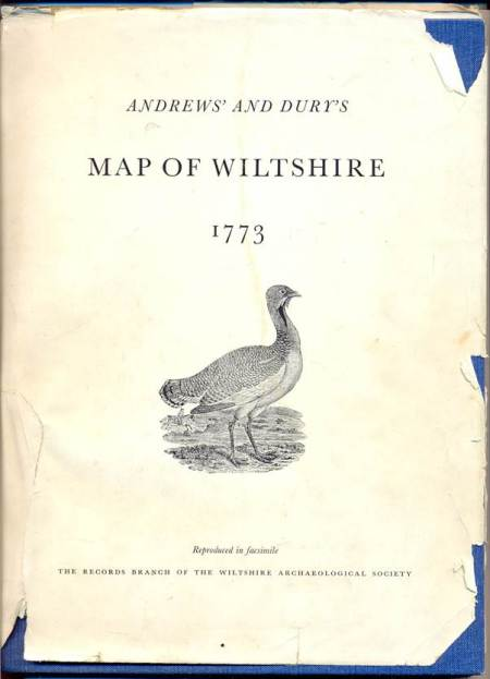 Andrews' and Drury' Map of Wiltshire - 1773