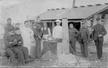 Pond Farm Camp kitchen - 1909