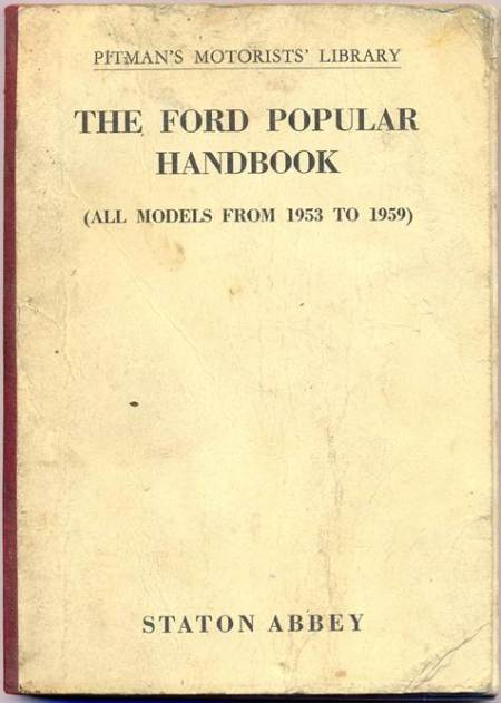 Ford Popular - a 1950s handbook