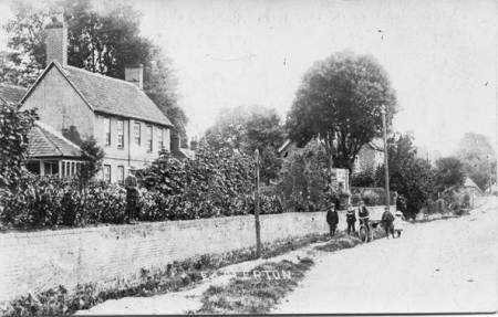 The Grange in Edwardian times