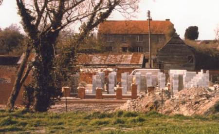 Chantry Mead under construction