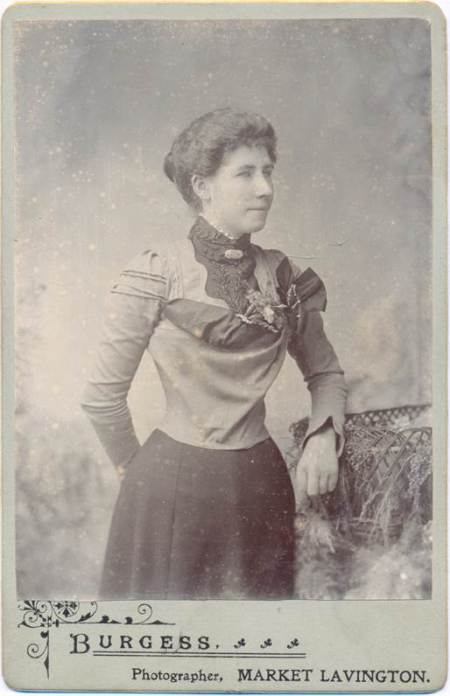 Ada Hopkins in the 1890s - but which Ada Hopkins