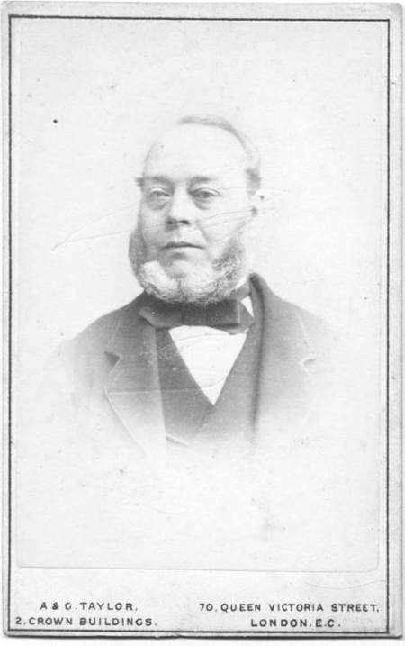 Joseph Ashley on a carte de visite