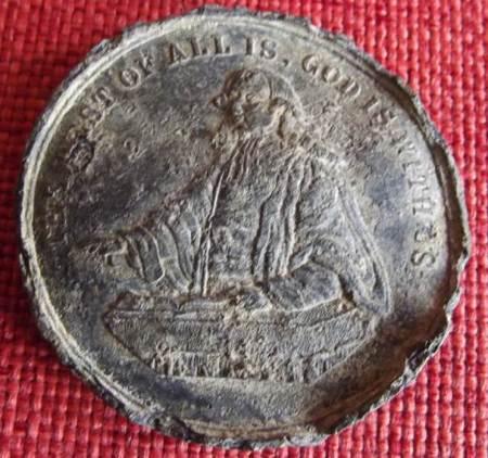 Medallion found in Market Lavington