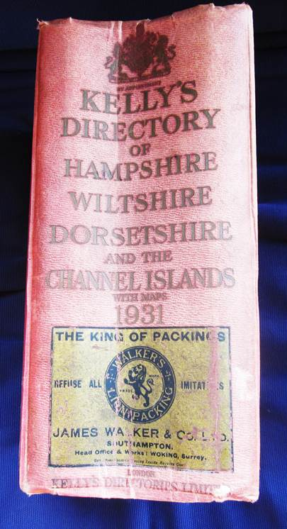 This directory was for the year 1931