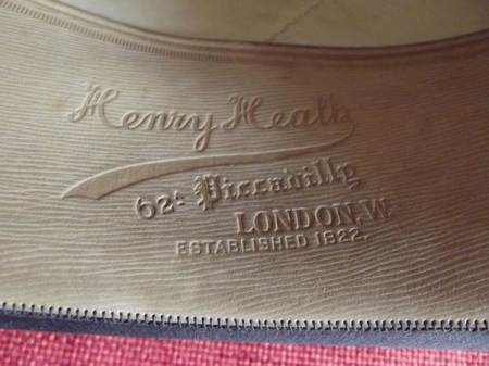 Henry Heath embossed mark