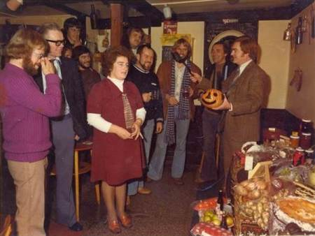 A 1970s event at the Volunteer Arms