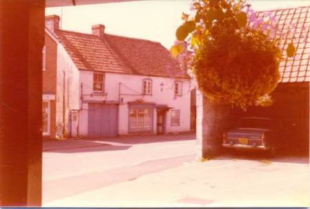 View of Reid's house from the old Volunteer Arms in about 1977
