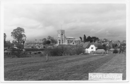 village from rec ground2 1960s
