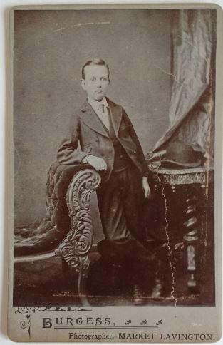 Burgess pic, boy posing