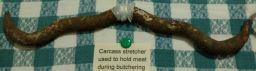 Butcher carcass stretcher