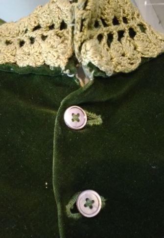 green jacket buttons